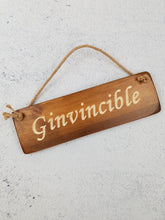 Load image into Gallery viewer, Personalised Gifts For Her - Hanging Sign - Ginvinsable
