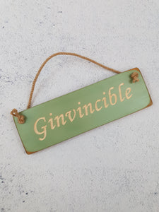 Personalised Gifts For Her - Hanging Sign - Ginvinsable