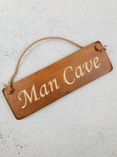 Load image into Gallery viewer, Personalised Gifts For Him - Hanging Sign - Man Cave