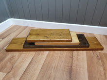Load image into Gallery viewer, Rustic Floating shelf-Handmade from solid wood
