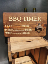 Load image into Gallery viewer, Personalised Gifts For Him - Personalised Bottle Opener - BBQ Timer
