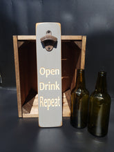 Load image into Gallery viewer, Personalised Gifts For Him - Personalised wooden Bottle Opener - Fathers Day