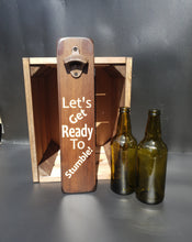Load image into Gallery viewer, Personalised Gifts For Him - Personalised Bottle Opener - Let's Get Ready To Stumble