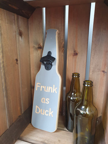Wooden Bottle opener-Frunk as Duck