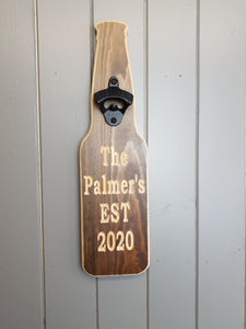 Create your own Bottle opener-Personalised bottle opener