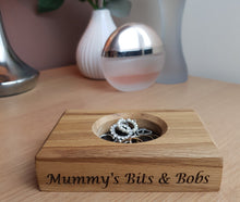 Load image into Gallery viewer, Personalised Wedding Ring Dish / Bits and Bobs Tray / Loose change dish / Wedding Ring Dish / Bridal Party Gifts / Ring Tray / Anniversary