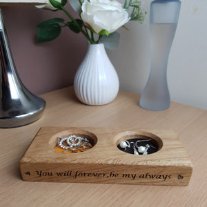 Personalised Wedding Ring Dish / Bits and Bobs Tray / Loose change dish / Wedding Ring Dish / Bridal Party Gifts / Ring Tray / Anniversary