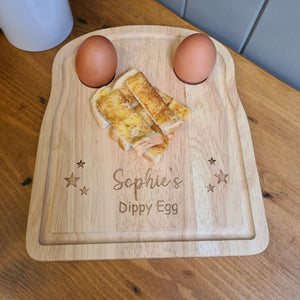 Personalised Wooden Dippy Egg board