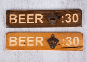 Personalised Gifts For Him - Personalised Bottle Opener - Beer : 30