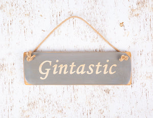 Personalised Gifts For Her - Hanging Sign - Gintastic