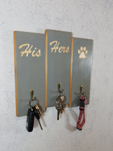 Load image into Gallery viewer, Personalised Gifts for Dogs -His hers and Dog Lead Holder