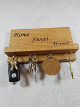 Load image into Gallery viewer, Personalized Gifts For Him - Engraved Magnetic Key Holder with Shelf