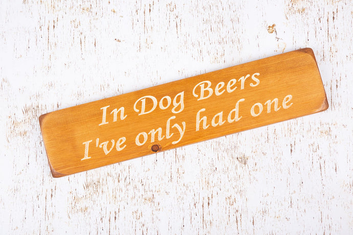 Personalized Gifts For Men - Wooden Signs -