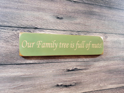 Personalised Gifts - Small Wooden Signs-