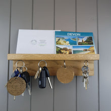 Load image into Gallery viewer, Magnet Key Rack, Key Holder, Wooden Key Holder,Key Storage Holder,Key Organizer