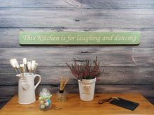 Load image into Gallery viewer, Personalised Gifts - This Kitchen Is For Laughing And Dancing