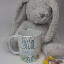 Load image into Gallery viewer, PERSONALISED EASTER BUNNY MUG FOR GIRLS/BOYS
