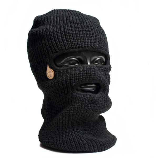 Tear Drop Facemask/Fold Up Beanie
