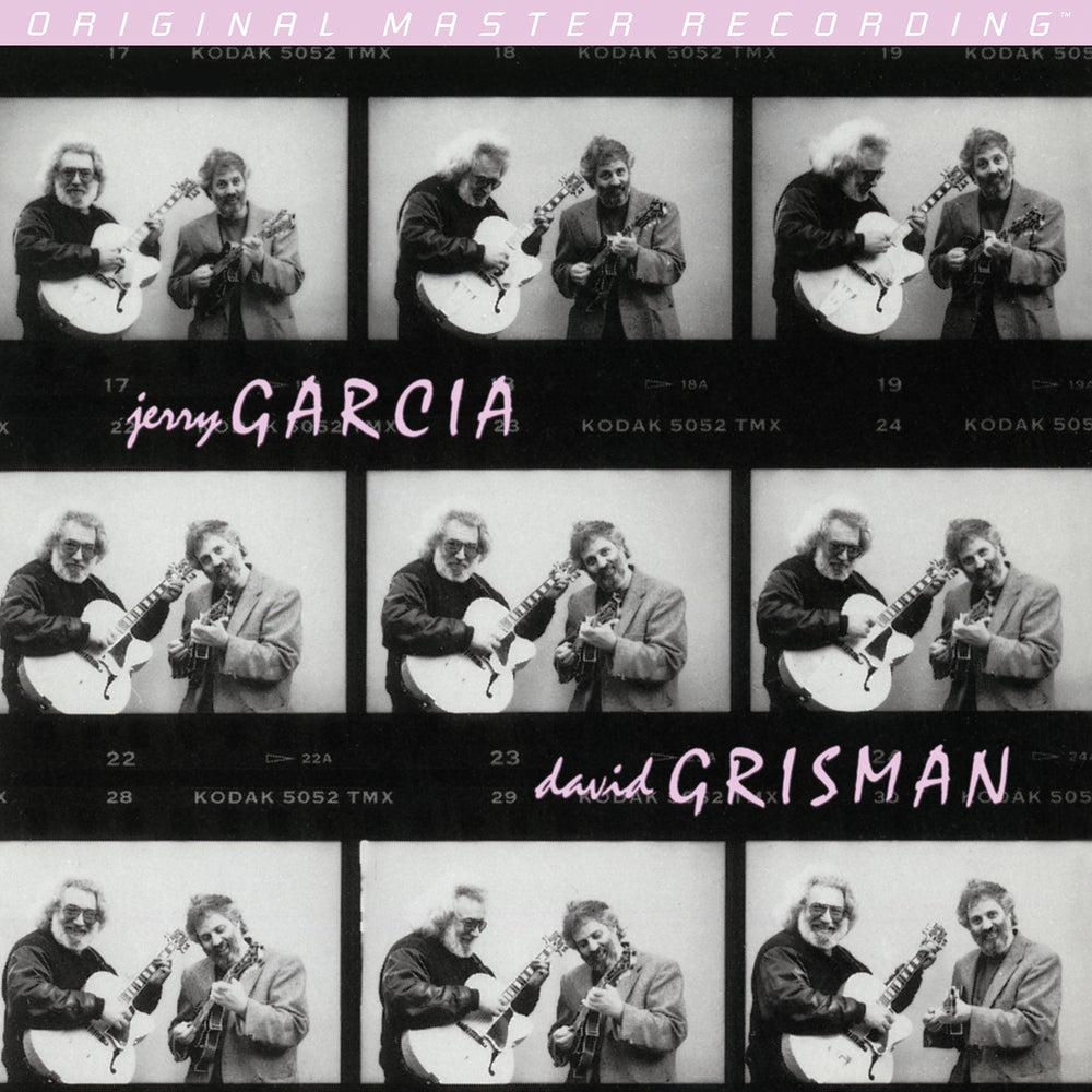 Jerry Garcia and David Grisman - Garcia/Grisman
