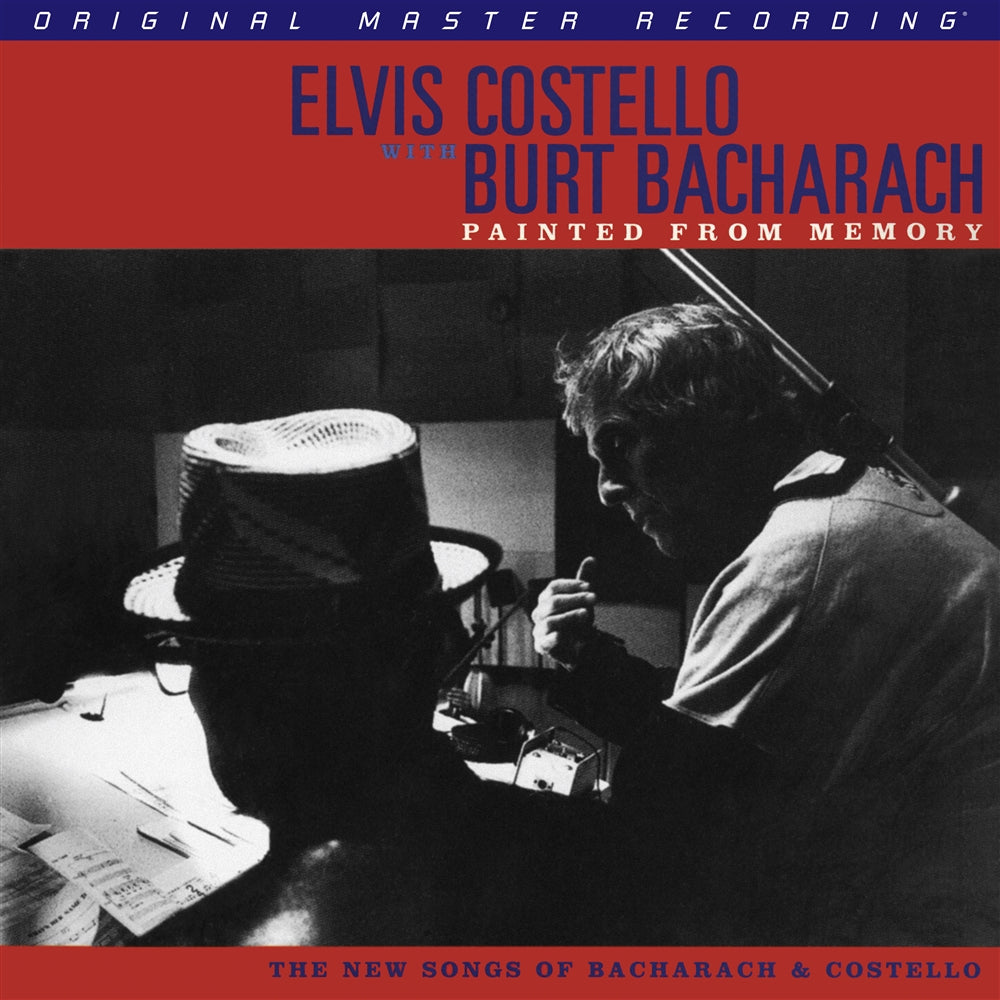 Elvis Costello with Burt Bacharach - Painted from Memory