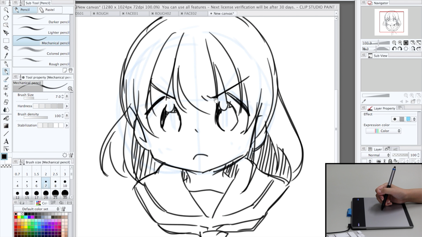 How To Draw Manga Lesson 4 Angry Face University