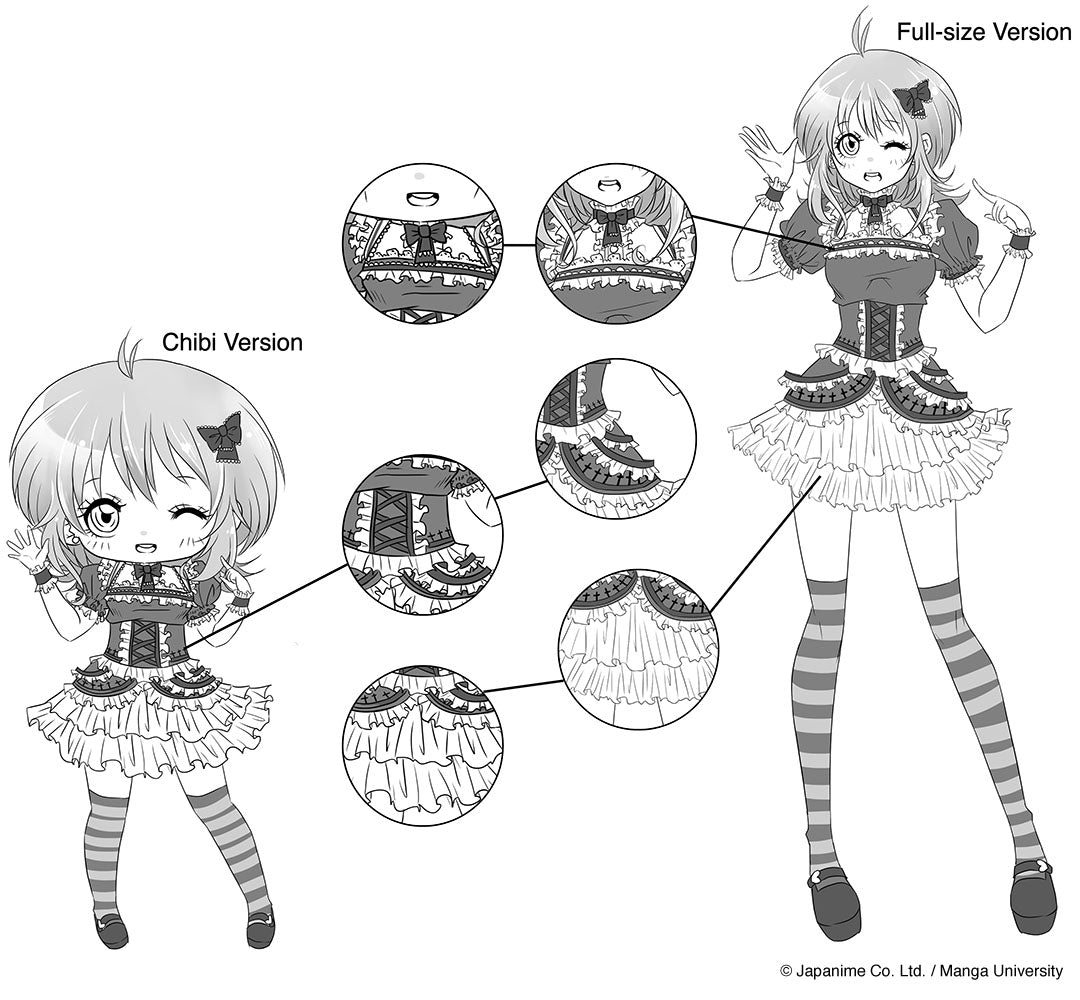 Character Design Tutorial Manga : Drawing chibi characters manga university campus store