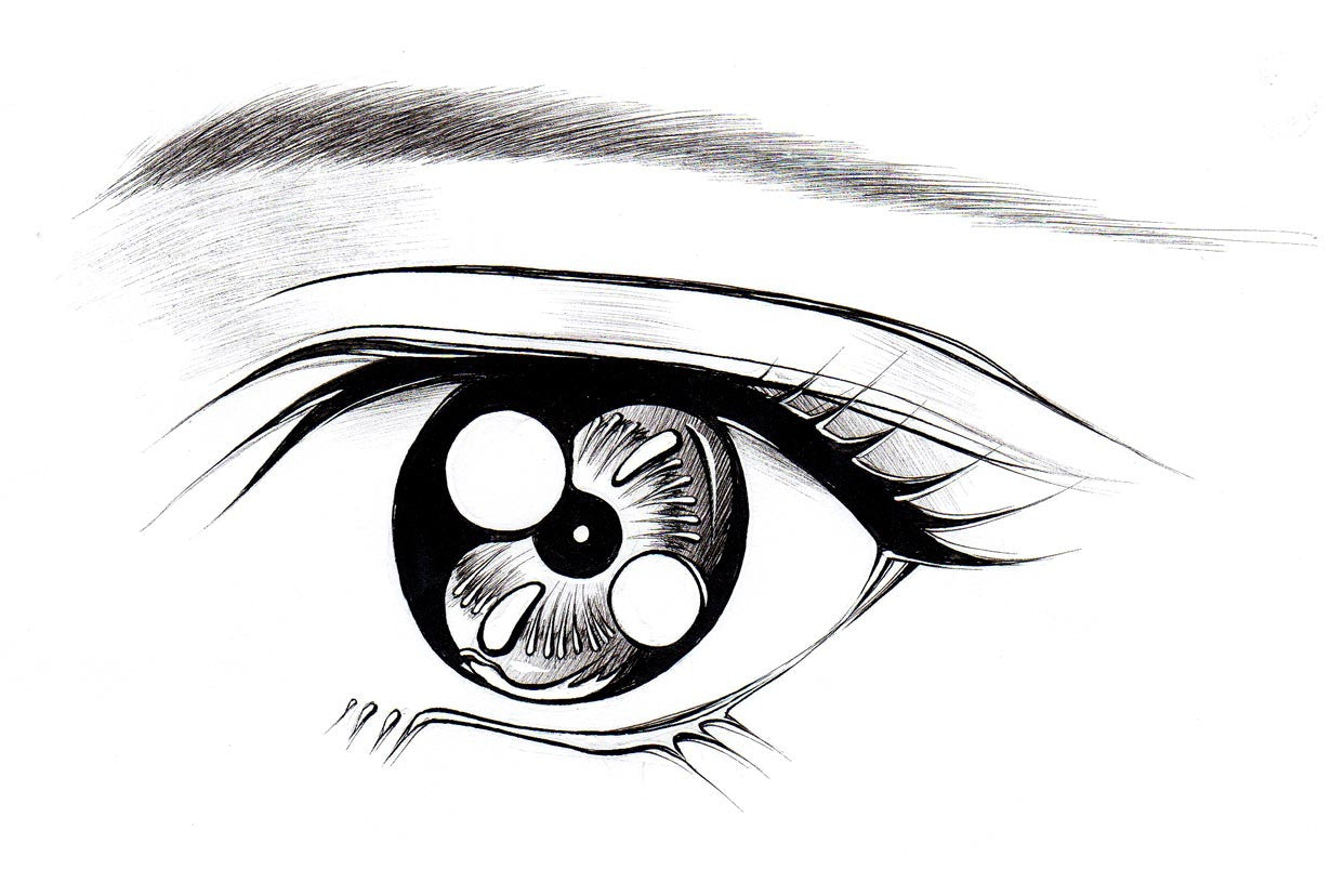 Drawing Of Anime Eyes