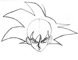 How To Draw Goku From Dragon Ball Z Manga University Campus Store
