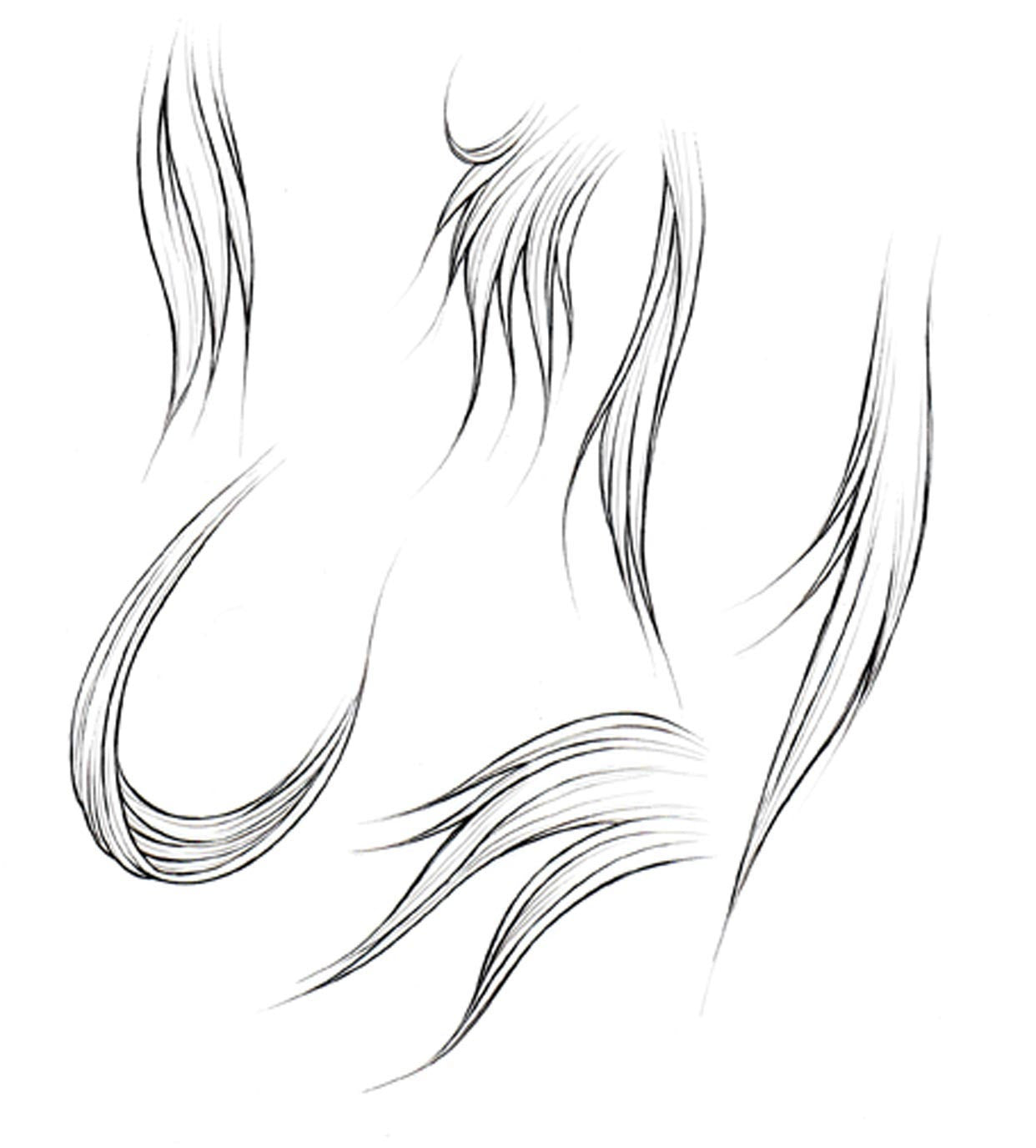 How To Draw Hair Part 1 Manga University Campus Store