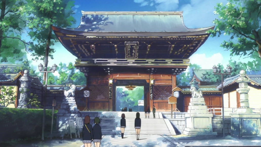 お寺 (おてら / otera) – (Buddhist) Temple <br> From K-On