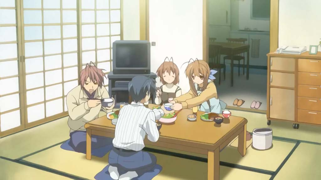 家族(kazoku)- family <br> From Clannad, episode 1