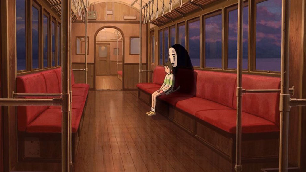 電車 (densha) - train <br> From Spirited Away