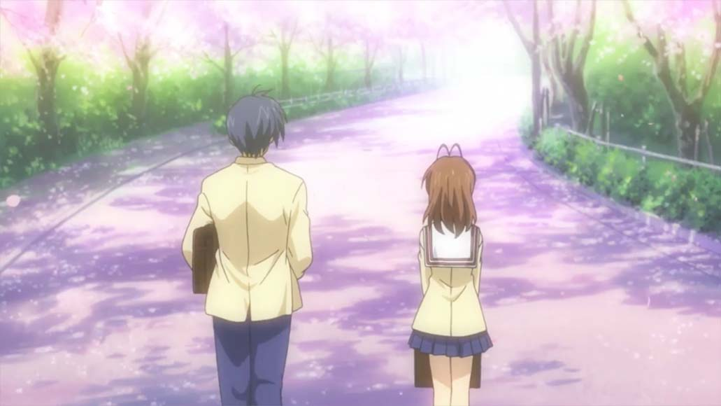 始まり(hajimari) - start, beginning <br> From Clannad, episode 1