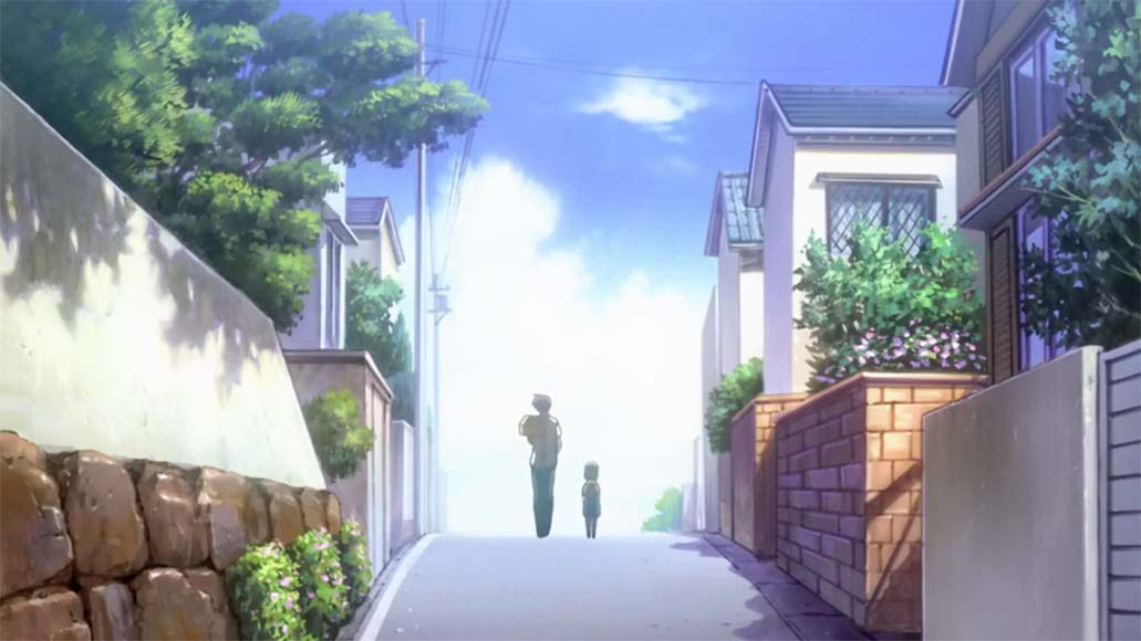 出発(shuppatsu)- departure <br> From Clannad: After Story, episode 17