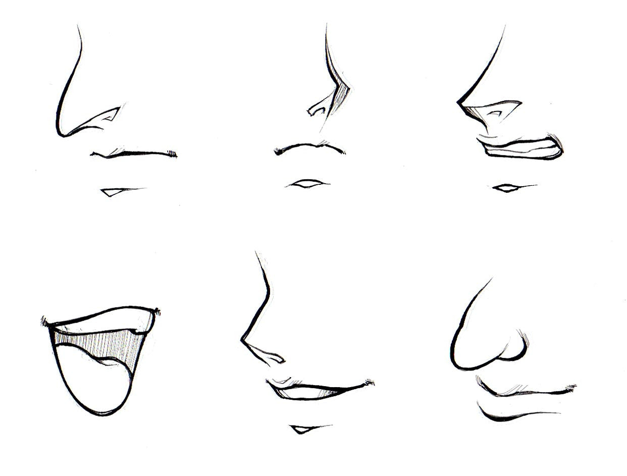 How To Draw Noses And Mouths Manga University Campus Store