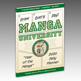"""Year of the Manga"" 2020 Daily Planner"
