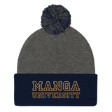 Manga University Official Pom-Pom Knit Beanie