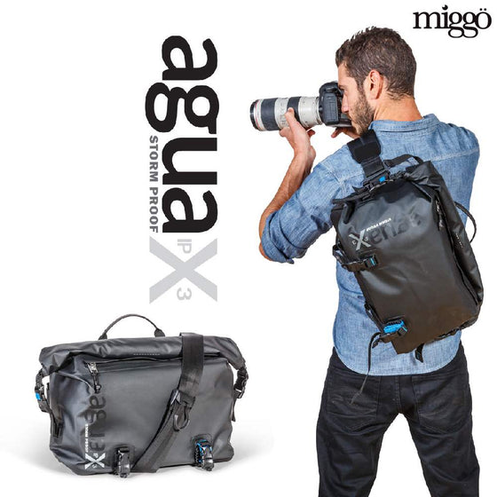 Miggo Agua Large Stormproof Messenger for large DSLR