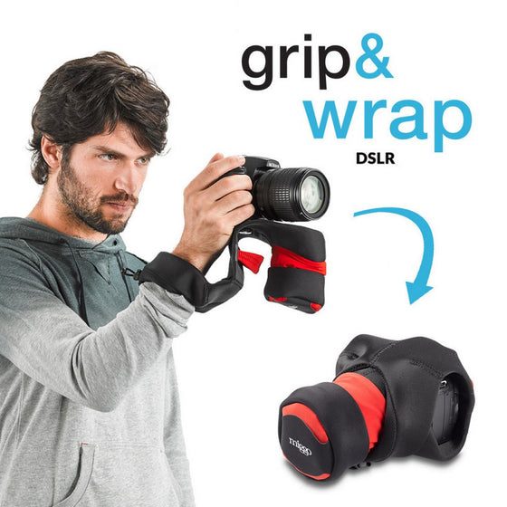 Miggo Padded  Camera Grip and Wrap for SLR