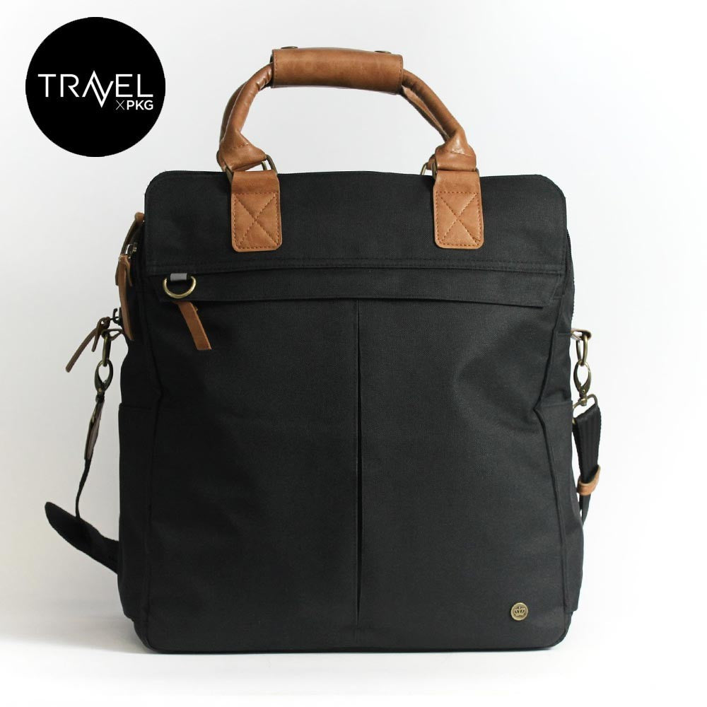 PKG TRAVEL TC02 OVERNIGHT TOTE Bag BLACK - DISTEXPRESS.HK