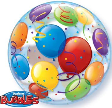 party balloons plastic bubble balloon