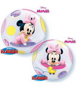 "22"" Minnie Mouse Plastic Bubble Balloon"