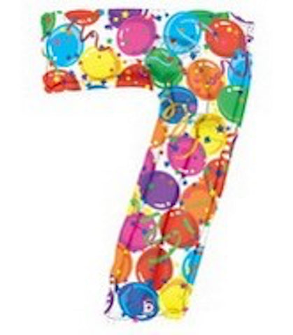 "40"" Number Seven Balloon - Balloons & Streamers Design"