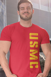 USMC Red and Gold - Left Side T-Shirt