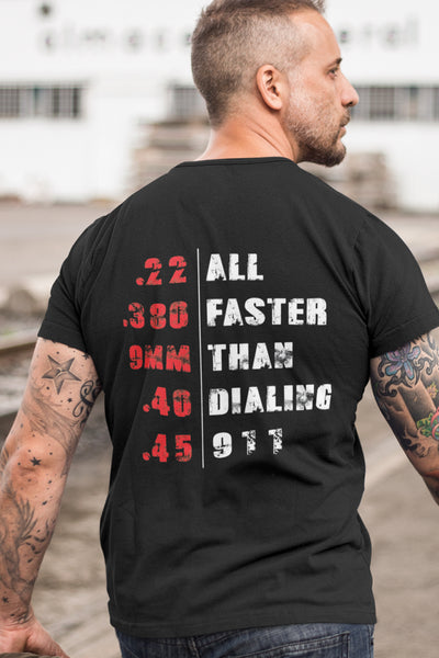 All Faster Than 911 - T-Shirt