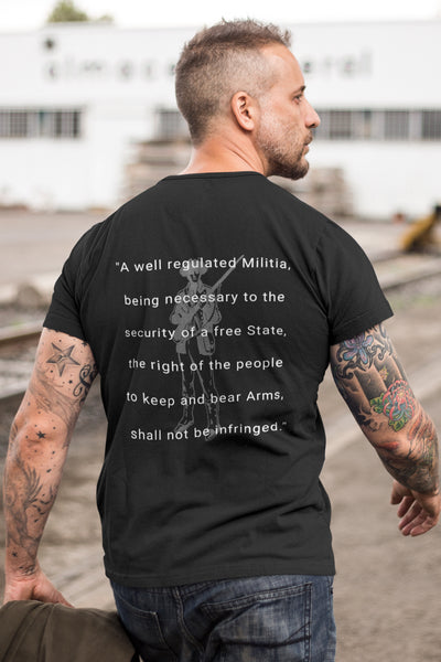 The Second Amendment - T-Shirt -Men's