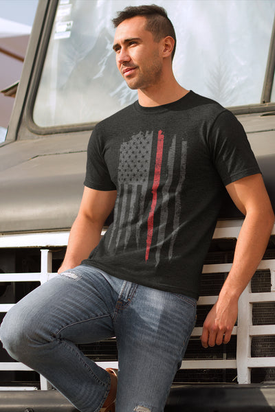 The Red Line T-Shirt - Men's