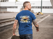 Check Your Six - Air Force T-Shirt