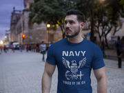 Navy Forged By The Sea T-Shirt
