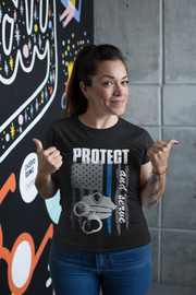 Protect and Serve - Women's T-Shirt